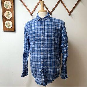 Polo Ralph Lauren Linen Button Down Shirt